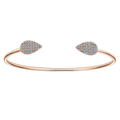 Gabriel - 14k Pink Gold Byblos Bangle