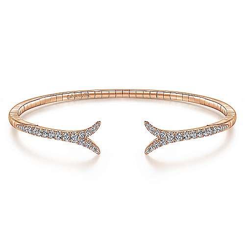 14k Pink Gold Diamond