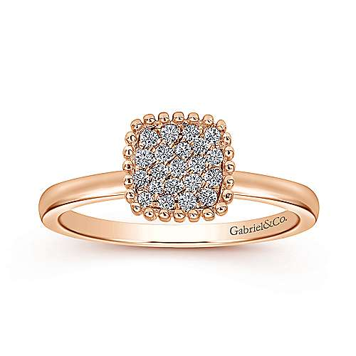 14k Rose Gold Bujukan Fashion Ladies