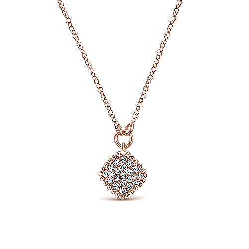 Gabriel - 14k Rose Gold Bujukan Fashion Necklace