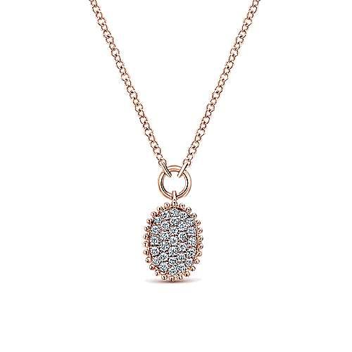 Gabriel - 14k Rose Gold Bujukan Fashion Necklace