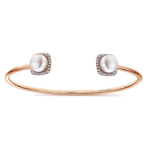 14k Rose Gold Byblos Bangle