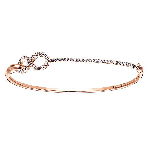 Gabriel - 14k Rose Gold Byblos Bangle
