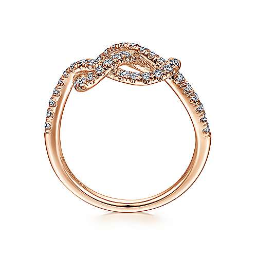 14k Rose Gold Eternal Love Fashion Ladies