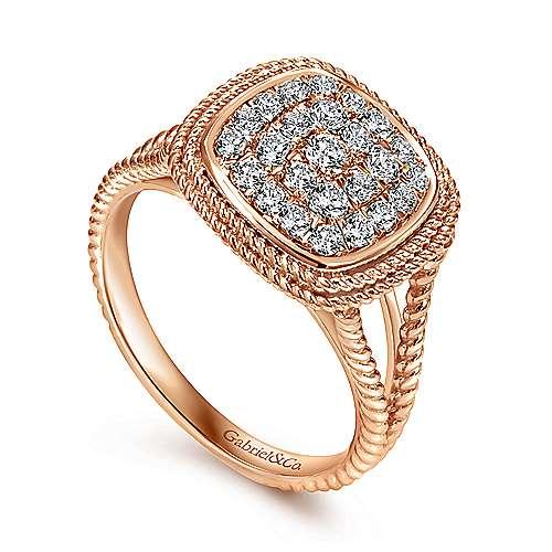 14k Rose Gold Hampton Fashion Ladies