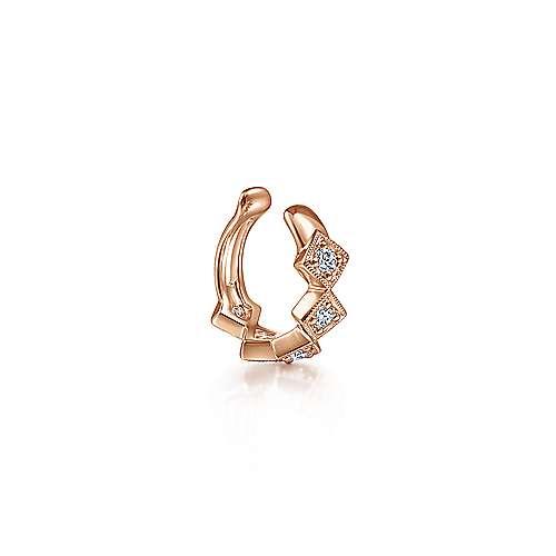 14k Rose Gold Kaslique Earcuffs Earrings angle 1