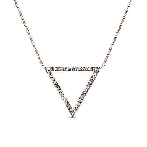 Gabriel - 14k Rose Gold Kaslique Fashion Necklace