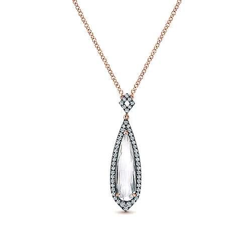 Gabriel - 14k Rose Gold Lusso Color Fashion Necklace