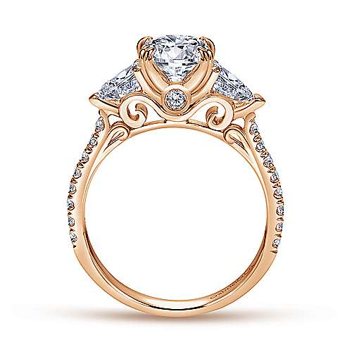 square ring diamond pid gold total trellis engagement carat white three classic different style sq radiant stone with f rings