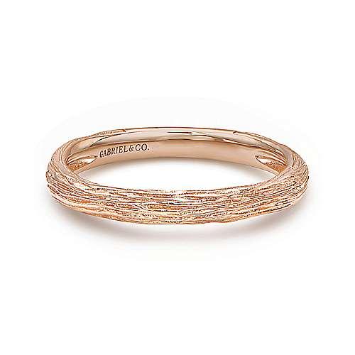 14k Rose Gold Stackable Ladies Ring LR5648K4JJJ
