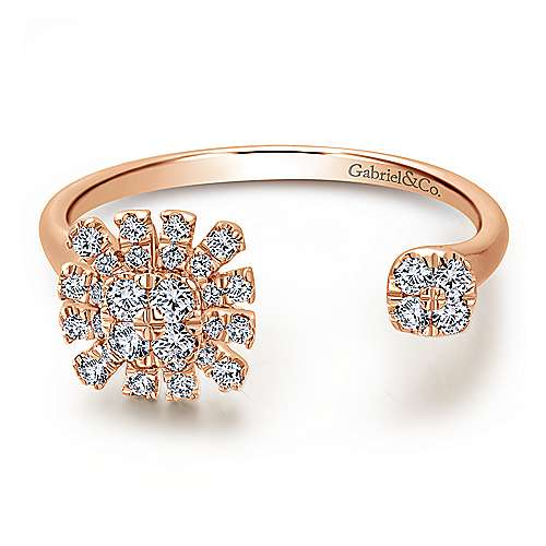14k Rose Gold Starlis Fashion Ladies' Ring