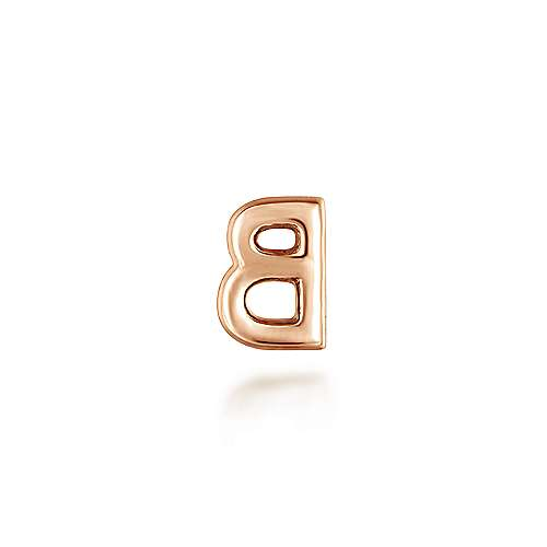 14k Rose Gold Treasure Chests Locket Charm Pendant angle 2