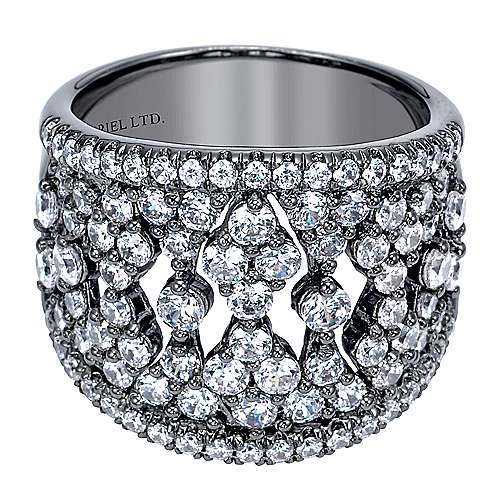 Gabriel - 14k White Gold Allure Fashion Ladies' Ring