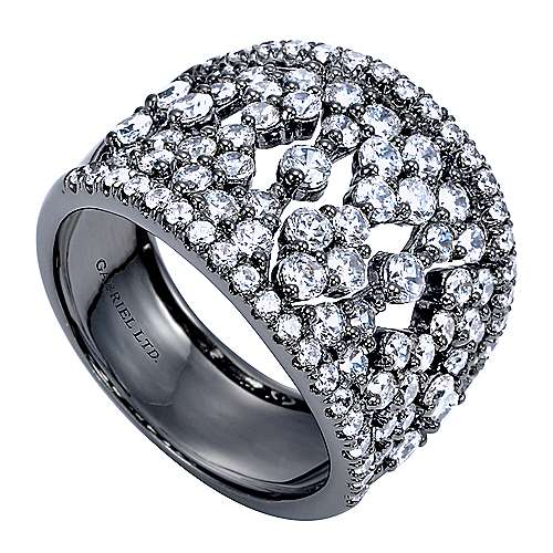 14k White Gold Allure Fashion Ladies