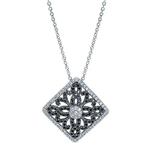 Gabriel - 14k White Gold Allure Fashion Necklace