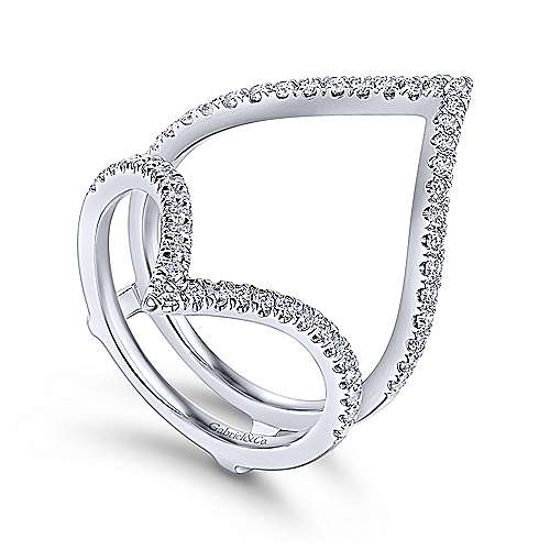 14k White Gold Contemporary Enhancer Anniversary Band angle 3