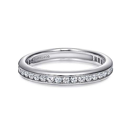 14k White Gold  Eternity
