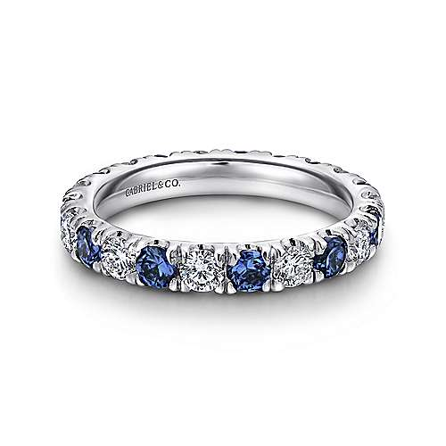 white princess w ct bands blue princesscut t p anniversary v gold band cut in tw and diamond sapphire