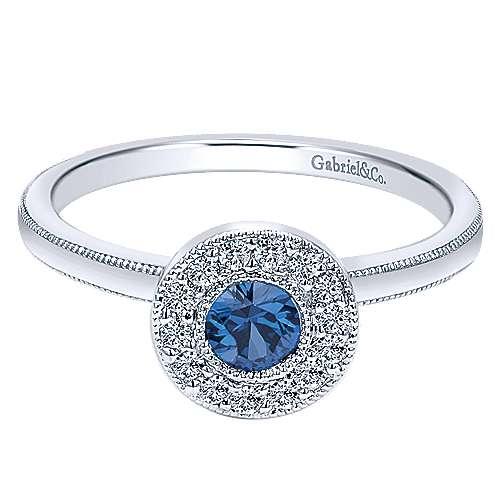 Gabriel - 14k White Gold Ladies' Ring