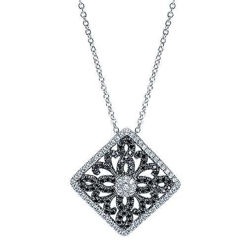Gabriel - 14k White Gold Allure Fashion Necklace