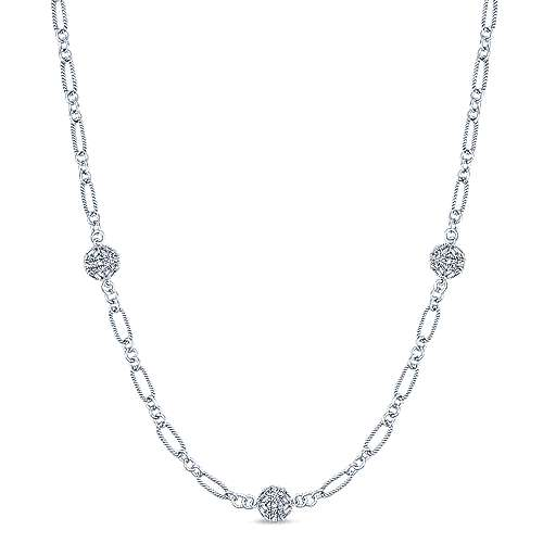 14k White Gold Endless Diamonds Diamond By The Yard