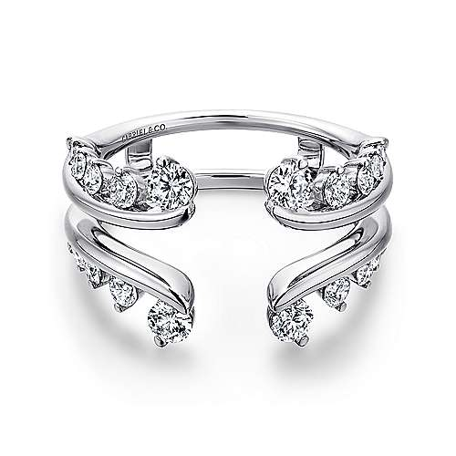 Gabriel - 14k White Gold Diamond Enhancer