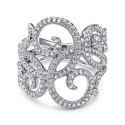 14k White Gold Flirtation Fashion