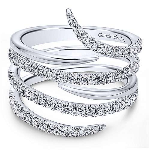 14k White Gold Kaslique Fashion