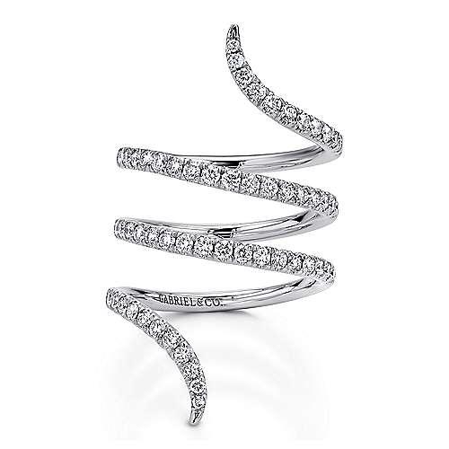 14k White Gold Diamond Fashion