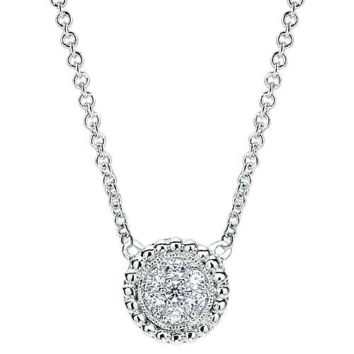 14k White Gold Bombay Fashion