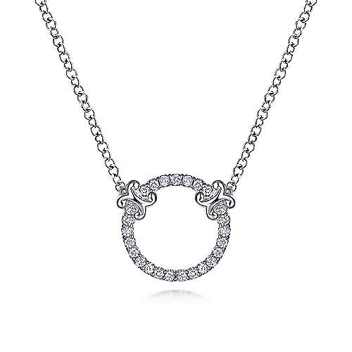 14k White Gold Diamond Fashion