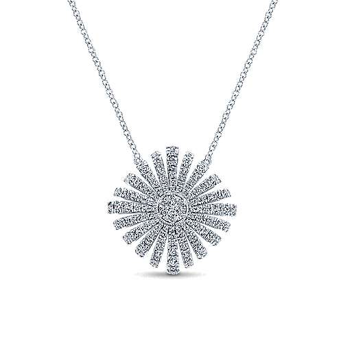 14k White Gold Stellare Fashion