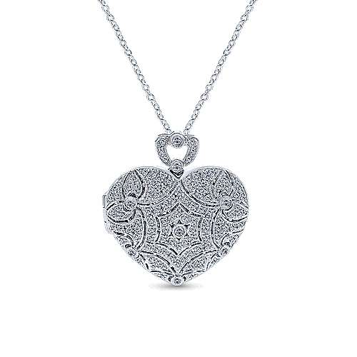 14k White Gold Eternal Love Fashion