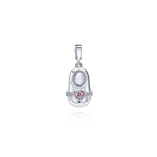 Gabriel - 14k White Gold Treasure Chests Charm Pendant
