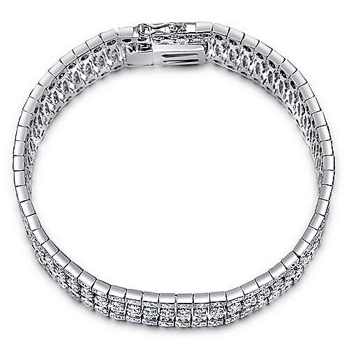 Gabriel - 14k White Gold Allure Tennis Bracelet