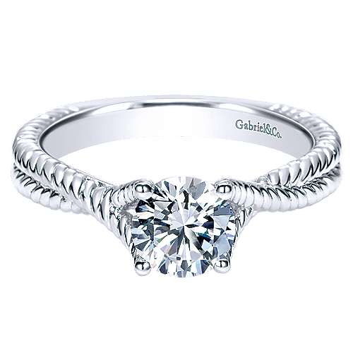 14k White Gold Riata