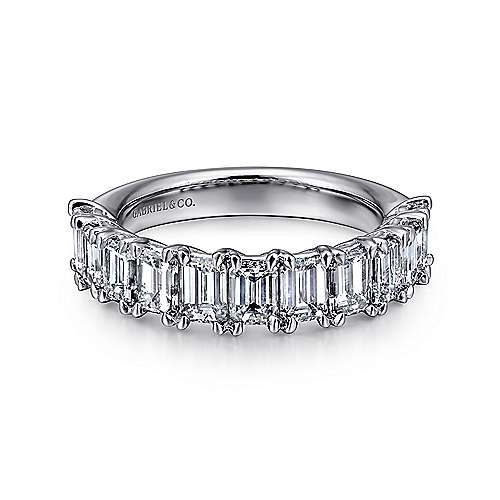 bands jeri and cohen cut band fine jewelry emerald diamond eternity