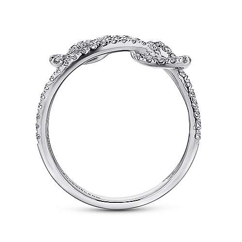 14k White Gold Eternal Love Fashion Ladies