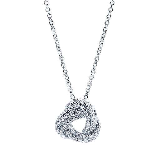 Gabriel - 14k White Gold Hampton Fashion Necklace