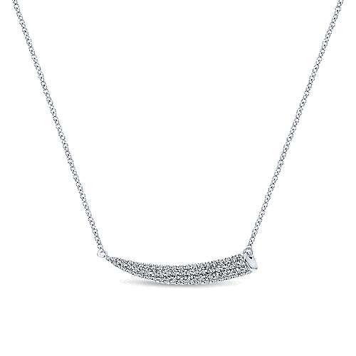 Gabriel - 14k White Gold Indulgence Fashion Necklace
