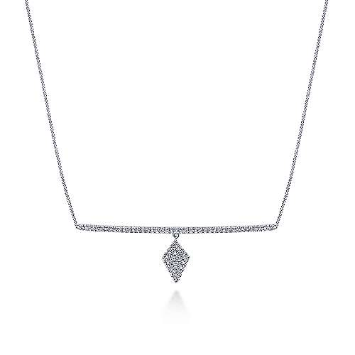 14k White Gold Kaslique Choker Necklace