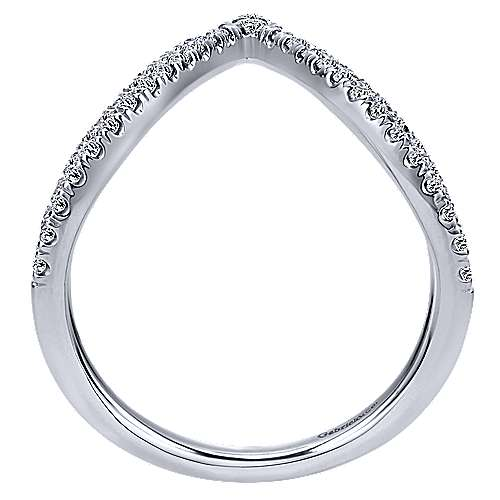 14k White Gold Kaslique Fashion Ladies