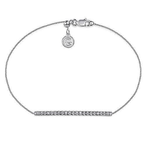 14k White Gold Lusso Chain Bracelet