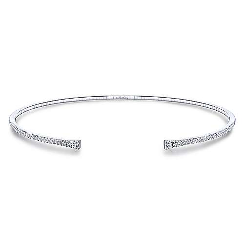 Gabriel - 14k White Gold Lusso Choker Necklace