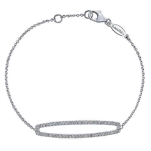 Gabriel - 14k White Gold Lusso Diamond Tennis Bracelet