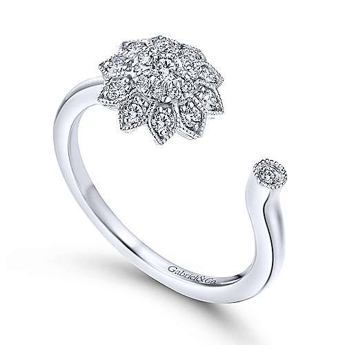 14k White Gold Messier Fashion Ladies