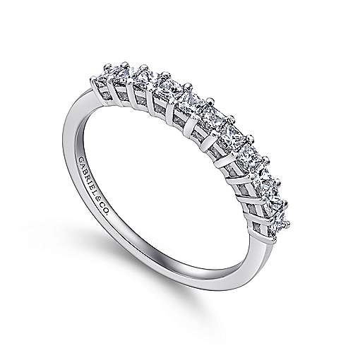 f shape bands ctw cut il band listing diamond princess anniversary gmlm prong u g fg