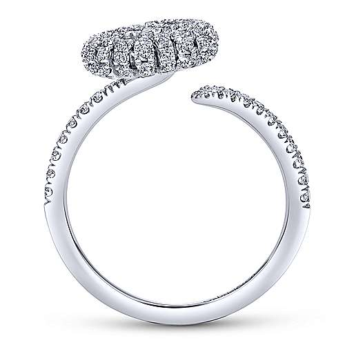 14k White Gold Starlis Fashion Ladies' Ring angle 2