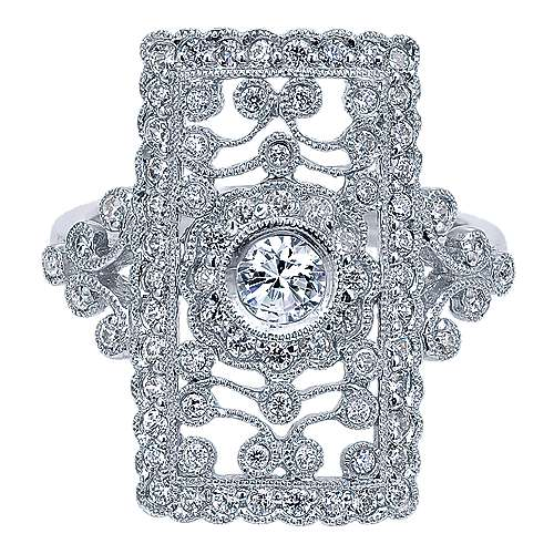 Vintage 14k White Gold  Fashion