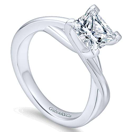 14k. Wt. Gold  Eng Ring angle 3